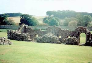 Later Cistercian monastery at Deer in Buchan built on Pictish foundations